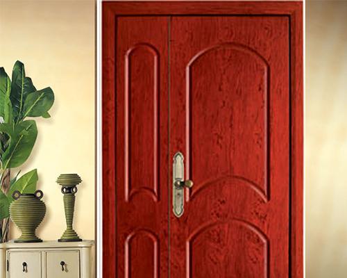 装甲门就是钢木门吗?